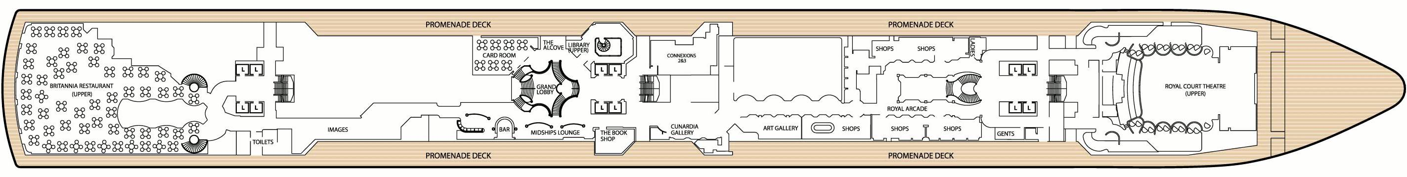 cabin plan queen victoria