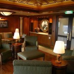 Cunard Queen Victoria Churchill's Cigar Lounge Bar