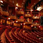 "Cunard Queen Victoria theater ""Royal Court Theatre"""