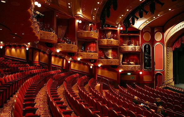 Cunard queen victoria theater quot royal court theatre quot