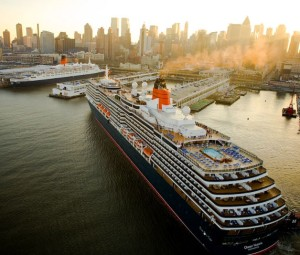 Queen Victoria cruise ship, New York
